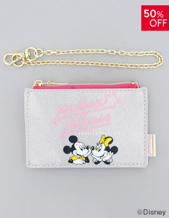 <img class='new_mark_img1' src='https://img.shop-pro.jp/img/new/icons14.gif' style='border:none;display:inline;margin:0px;padding:0px;width:auto;' />DISNEY / ラメパスポーチ(SV)