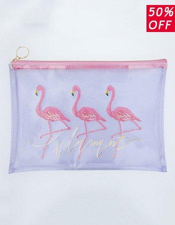 flamingo(PK) / クリアポーチ