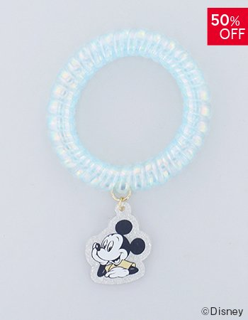 <img class='new_mark_img1' src='https://img.shop-pro.jp/img/new/icons16.gif' style='border:none;display:inline;margin:0px;padding:0px;width:auto;' />DISNEY / フェイス スプリングヘアゴム(BL)