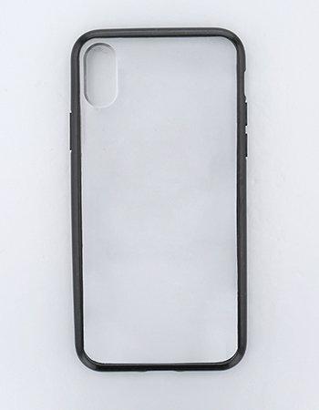 ブラック / ハイブリッドケース(iPhoneX/Xs)