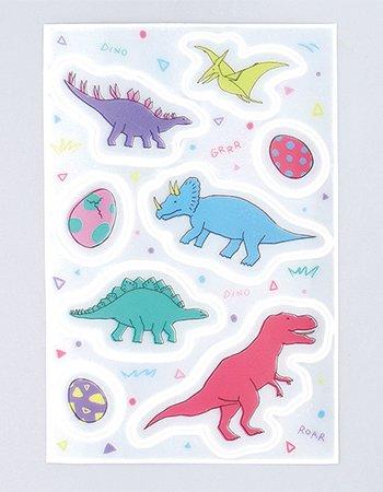 恐竜  /  リフレクトステッカー