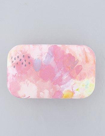 水彩模様 (ピンク)/小物入れ