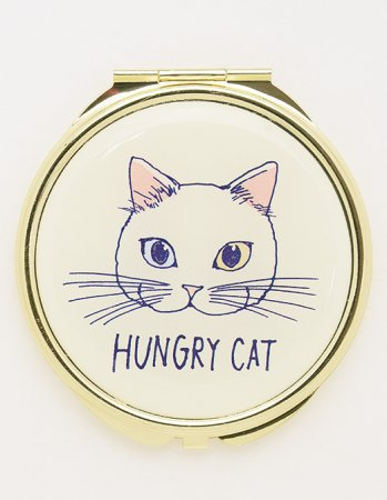 Hungry Cat(ホワイト) /  ミラー