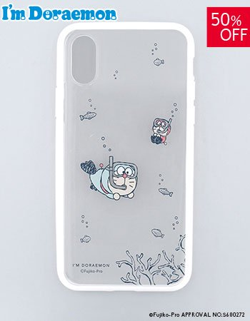 <img class='new_mark_img1' src='https://img.shop-pro.jp/img/new/icons16.gif' style='border:none;display:inline;margin:0px;padding:0px;width:auto;' />iPhoneX/Xs I'm DORAEMON (シュノーケル)