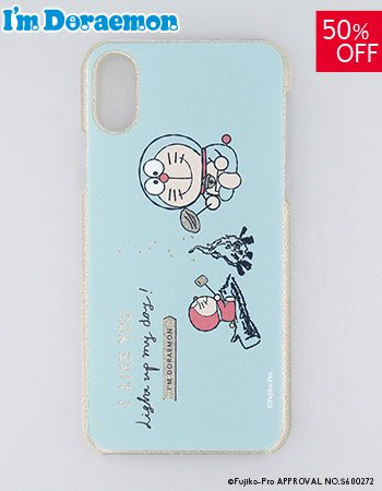 <img class='new_mark_img1' src='https://img.shop-pro.jp/img/new/icons14.gif' style='border:none;display:inline;margin:0px;padding:0px;width:auto;' />iPhoneX/Xs I'm DORAEMON (キャンプ)