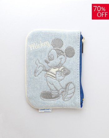 <img class='new_mark_img1' src='https://img.shop-pro.jp/img/new/icons16.gif' style='border:none;display:inline;margin:0px;padding:0px;width:auto;' /> DISNEY / ミッキー デニムミニポーチ(A)