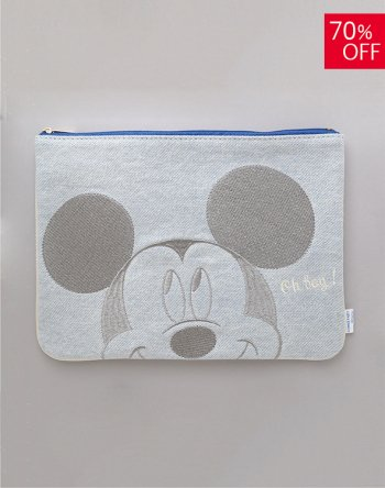 <img class='new_mark_img1' src='https://img.shop-pro.jp/img/new/icons16.gif' style='border:none;display:inline;margin:0px;padding:0px;width:auto;' /> DISNEY / ミッキー デニムポーチ(A)