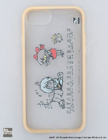 <img class='new_mark_img1' src='https://img.shop-pro.jp/img/new/icons14.gif' style='border:none;display:inline;margin:0px;padding:0px;width:auto;' />Hey,KITARO /鬼太郎×猫娘ハイブリットケース(iPhone8/7/6s)