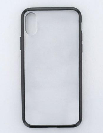 ブラック / ハイブリッドケース(iPhoneXR)