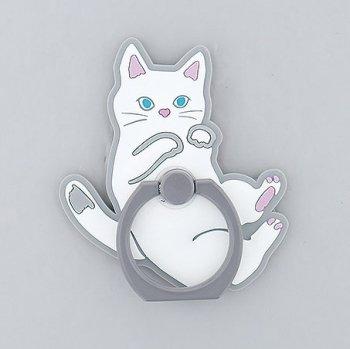白猫×ポーズ(WH)/ スマホリング