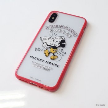 DISNEY / ミッキーハイブリットケース(iPhoneX/Xs)