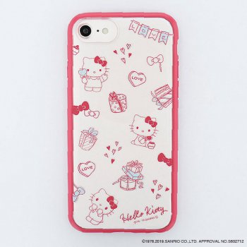 <img class='new_mark_img1' src='https://img.shop-pro.jp/img/new/icons14.gif' style='border:none;display:inline;margin:0px;padding:0px;width:auto;' />HELLO KITTY / Partyハイブリットケース(iPhone8/7/6s)