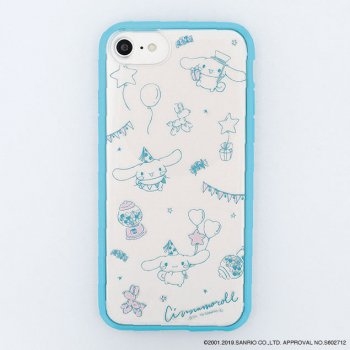 <img class='new_mark_img1' src='https://img.shop-pro.jp/img/new/icons14.gif' style='border:none;display:inline;margin:0px;padding:0px;width:auto;' />CINNAMOROLL / Partyハイブリットケース(iPhone8/7/6s)