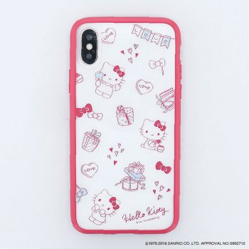<img class='new_mark_img1' src='https://img.shop-pro.jp/img/new/icons14.gif' style='border:none;display:inline;margin:0px;padding:0px;width:auto;' />HELLO KITTY / Partyハイブリットケース(iPhoneX/Xs)