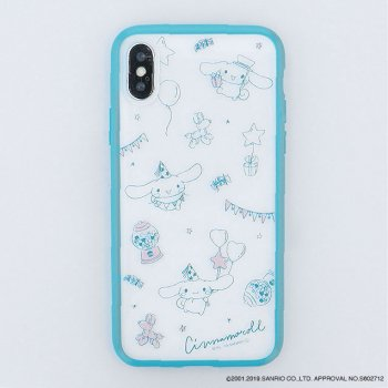 <img class='new_mark_img1' src='https://img.shop-pro.jp/img/new/icons14.gif' style='border:none;display:inline;margin:0px;padding:0px;width:auto;' />CINNAMOROLL  / Partyハイブリットケース(iPhoneX/Xs)