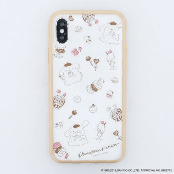 <img class='new_mark_img1' src='https://img.shop-pro.jp/img/new/icons14.gif' style='border:none;display:inline;margin:0px;padding:0px;width:auto;' />POMPOMPURIN / Party ハイブリットケース(iPhoneX/Xs)
