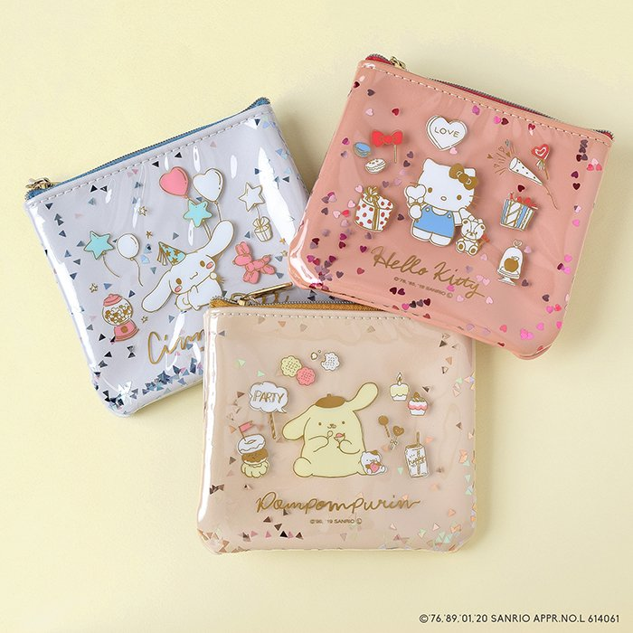 <img class='new_mark_img1' src='https://img.shop-pro.jp/img/new/icons14.gif' style='border:none;display:inline;margin:0px;padding:0px;width:auto;' />HELLO KITTY /ラメフレークポーチ