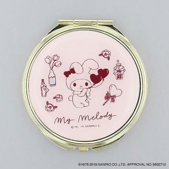 <img class='new_mark_img1' src='https://img.shop-pro.jp/img/new/icons14.gif' style='border:none;display:inline;margin:0px;padding:0px;width:auto;' />MY MELODY/ コンパクトミラー