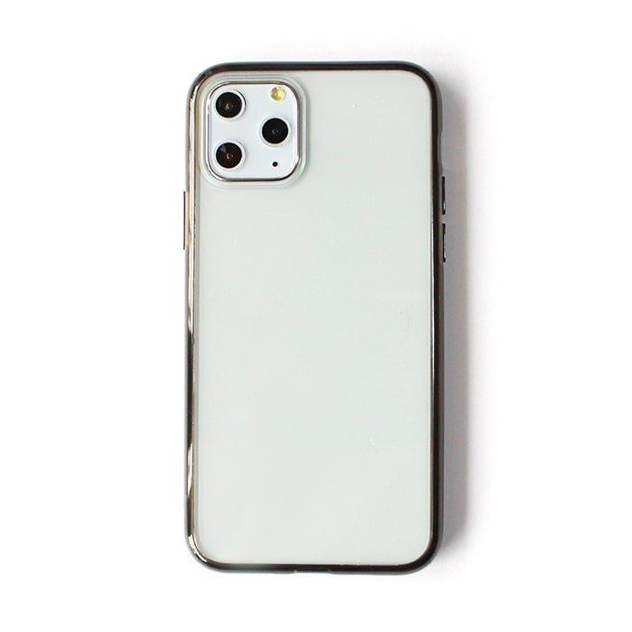パープルクリア/ ハイブリッドケース(iPhone11 Pro)