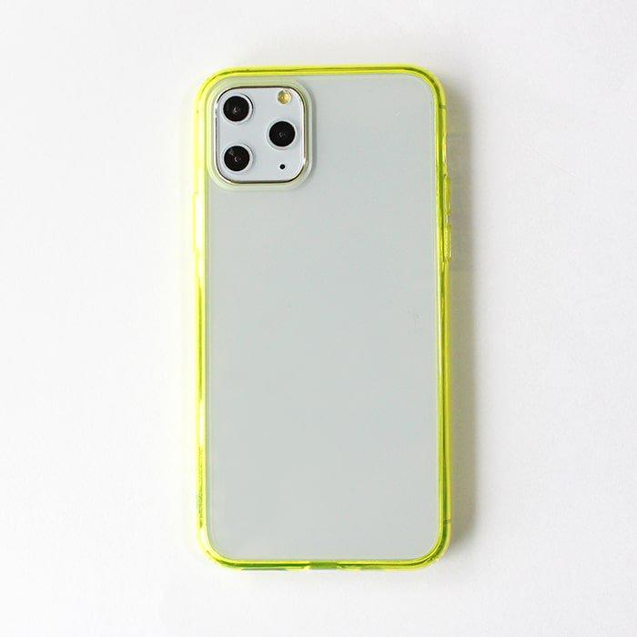 イエロークリア/ ハイブリッドケース(iPhone11 Pro)