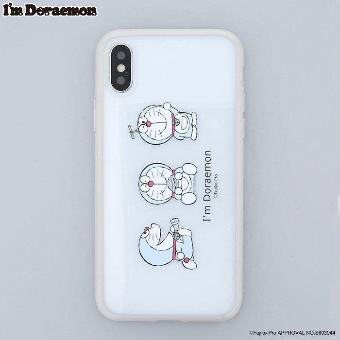 <img class='new_mark_img1' src='https://img.shop-pro.jp/img/new/icons14.gif' style='border:none;display:inline;margin:0px;padding:0px;width:auto;' />  I'm DORAEMON (GY)  /iPhoneX/XSケース