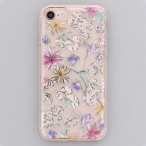 many flower / ハイブリッドケース(iPhone8/7/6s)