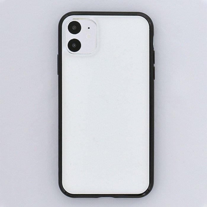 ブラック/ハイブリッドケース(iPhone11/XR兼用)