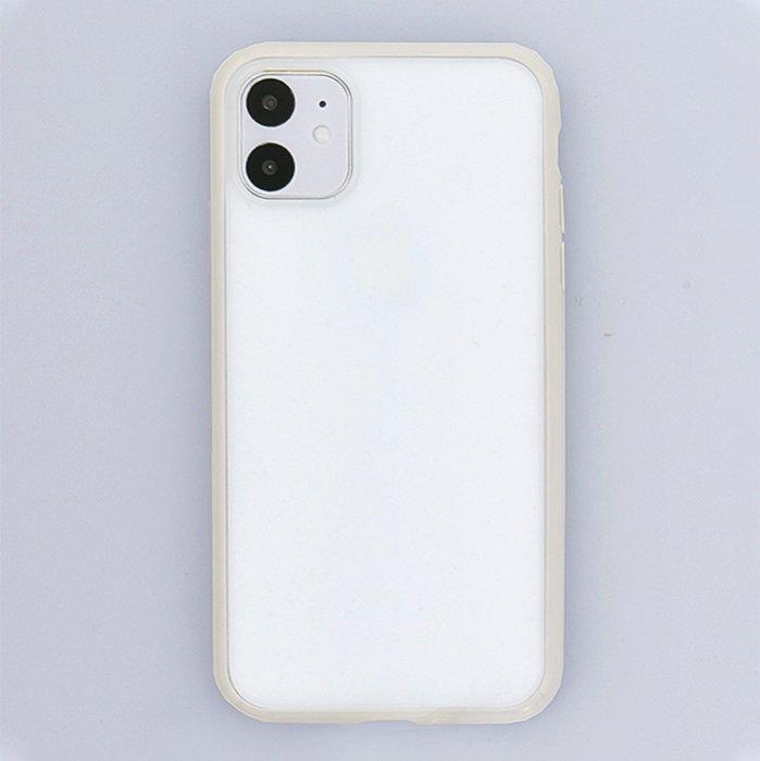 グレー/ハイブリッドケース(iPhone11/XR兼用)