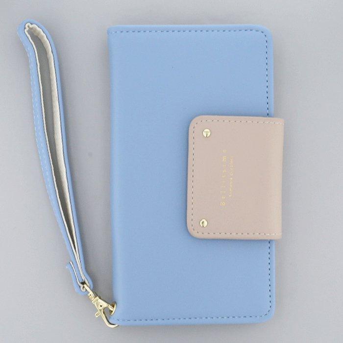 バイカラー×ブルー(BL)/  ブックレットケース(マルチ対応)