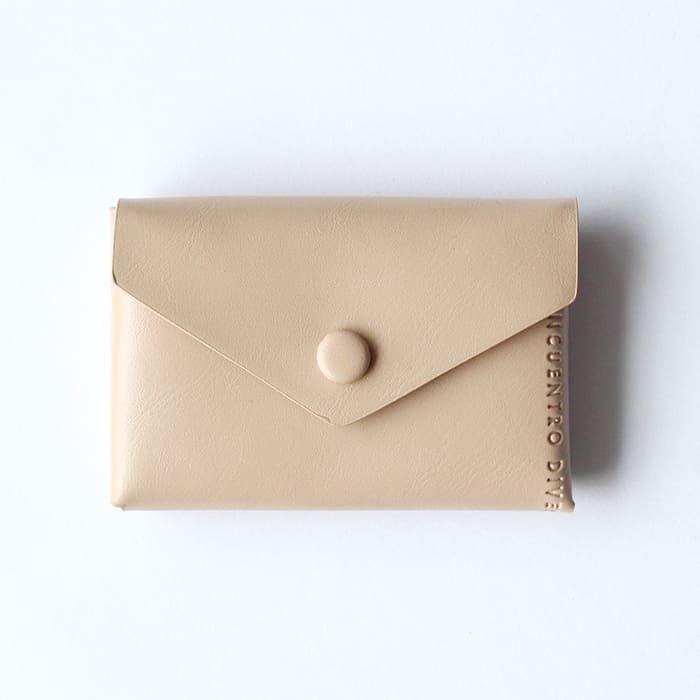 ベージュ/カードケース