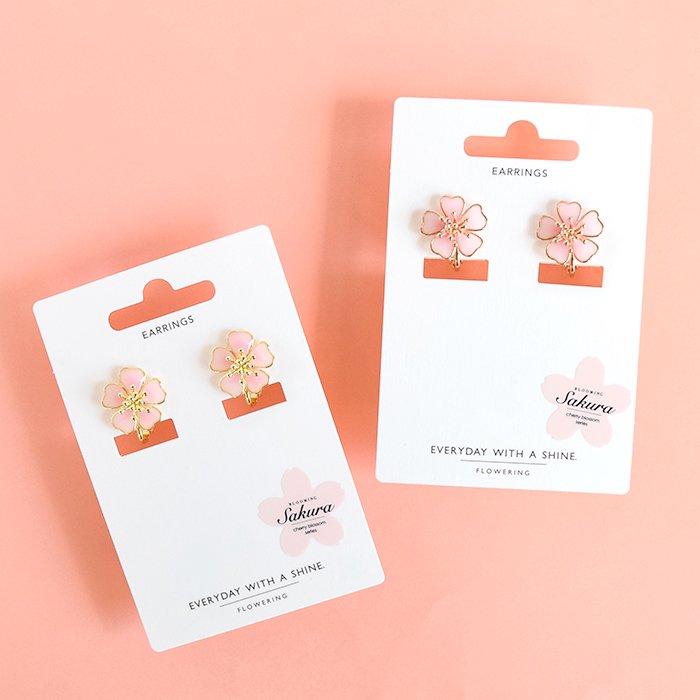 桜/イヤリング