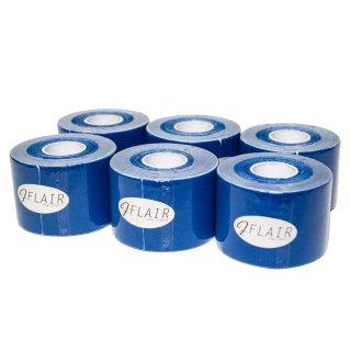 【6巻セット】 カラーキネシオテープ 50mm x 5.0M ネイビー