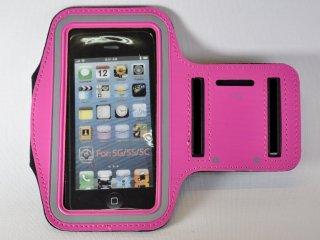 iPhone アームバンド 【ピンク】 (iPhone 5/5s/5c/4/4s 対応)