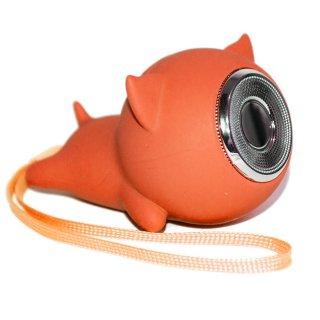 Little Pig Bluetooth スピーカー(オレンジ)