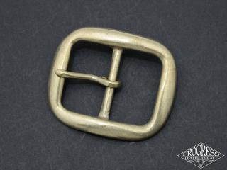 真鍮無垢 Wバックル40mm★ネコポス可