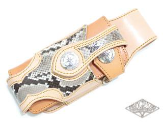 ウォレットケース‐ダイヤモンドパイソン‐