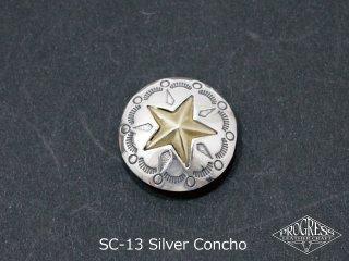 SC-13シルバーコンチョ
