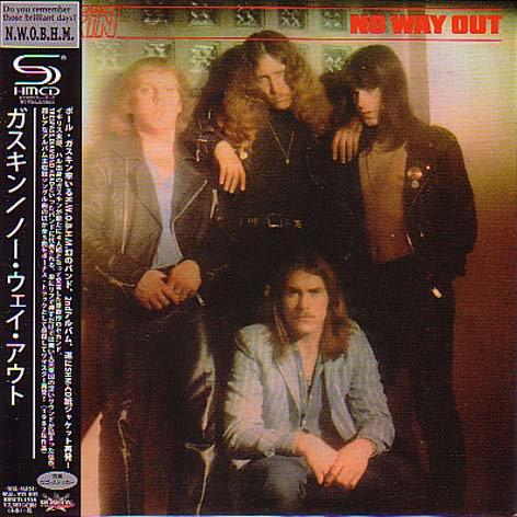 GASKIN / No Way Out (紙) - DIS...