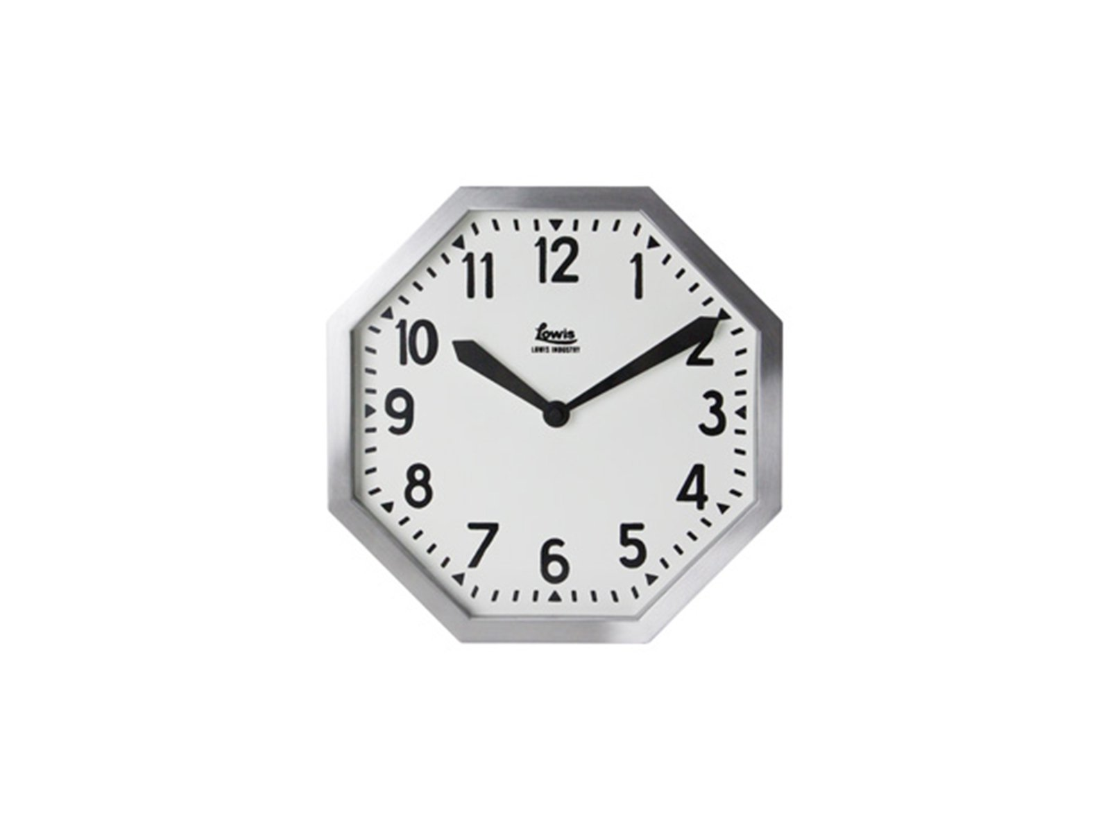DETAIL/Lowis Industry Octagon Clock ルイスインダストリーオクタゴンクロック 壁掛け時計【送料無料】