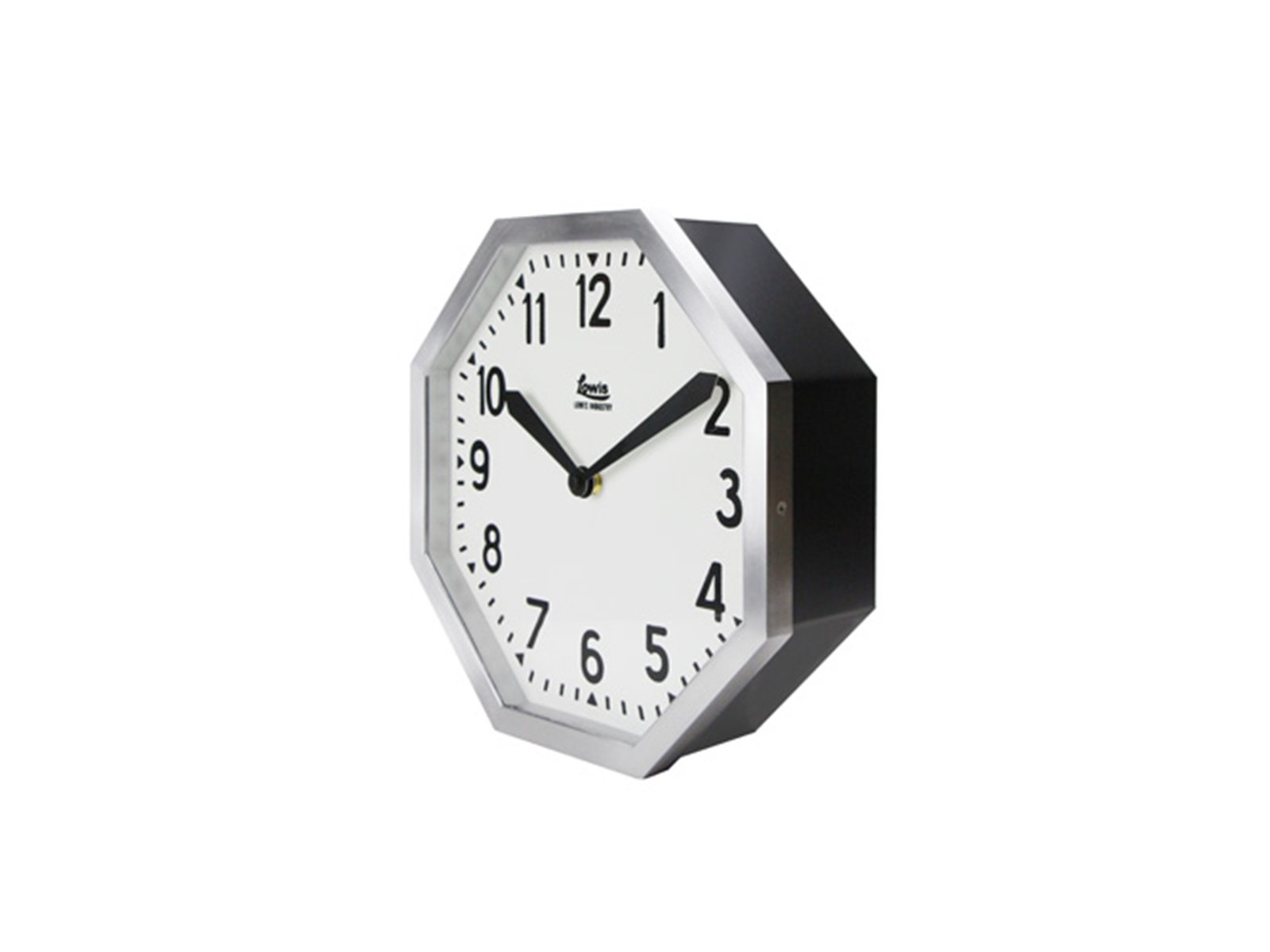 DETAIL/Lowis Industry Octagon Clock ルイスインダストリーオクタゴンクロック 壁掛け時計【送料無料】【画像2】