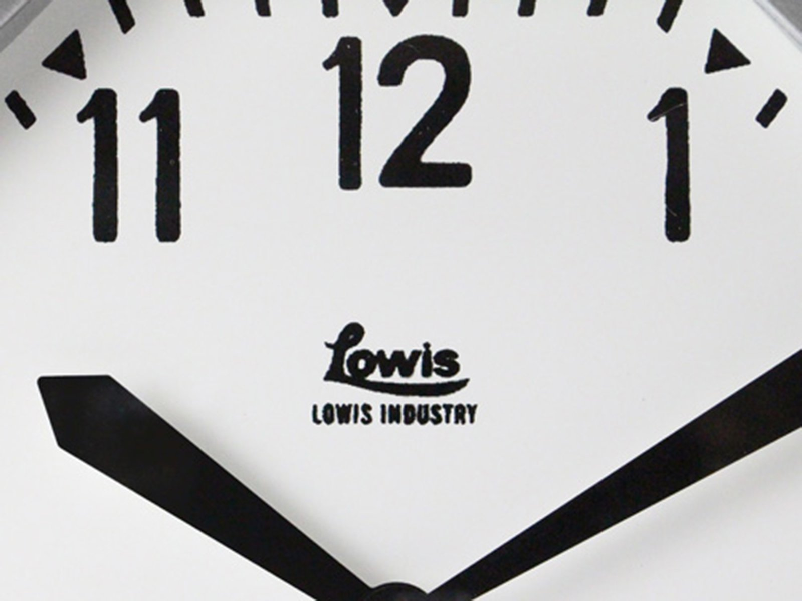 DETAIL/Lowis Industry Octagon Clock ルイスインダストリーオクタゴンクロック 壁掛け時計【送料無料】【画像5】