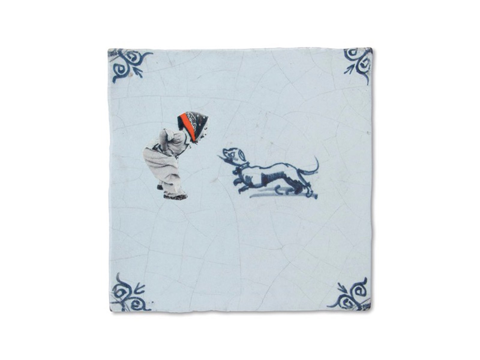 STORY TILES/ストーリータイルズ GIRL WITH DOG 10x10