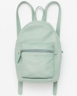 <img class='new_mark_img1' src='//img.shop-pro.jp/img/new/icons20.gif' style='border:none;display:inline;margin:0px;padding:0px;width:auto;' />LEATHER BACKPACK シーグラスグリーン(FW16)