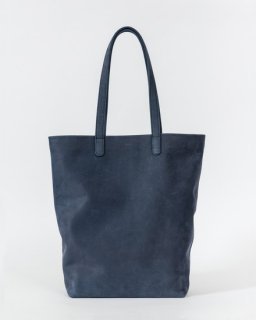 LEATHER TOTE  ネイビー(ヌバック)(FW17)