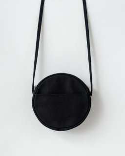 CANVAS CIRCLE PURSE  S ブラック