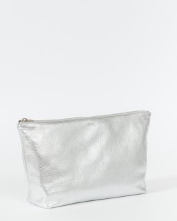 COSMETIC POUCH  L  シルバー