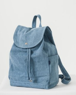 DRAWSTRING BACKPACK デニム