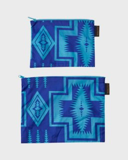 2-Pack Zip Pouch Harding Royal
