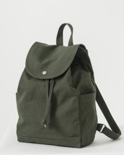 DRAWSTRING BACKPACK ダークオリーブ