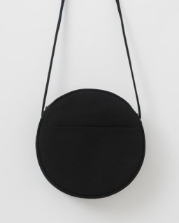 CANVAS CIRCLE PURSE M ブラック